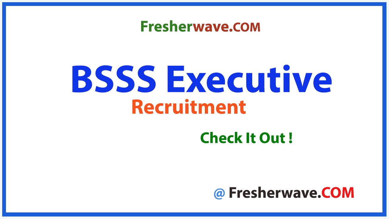 BSSS Executive Recruitment